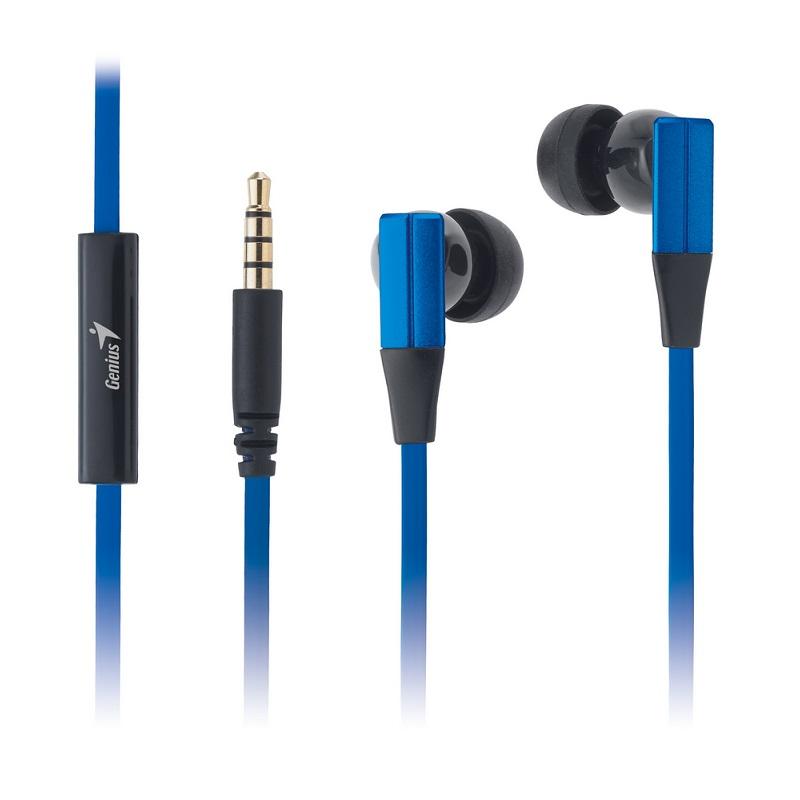 Headset Genius HS-M230 Headset, modrý, 4pin 3,5mm konektor 31710184103