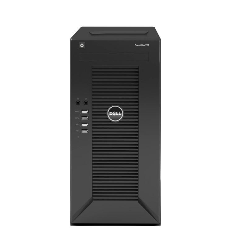 Server DELL PowerEdge T20 Server, Xeon Quad Core E3-1225 v3, 4GB, 1x 1TB 7200 SATA, mini tower, 1x GLAN, 3YNBD on-site S-T20-P3-003