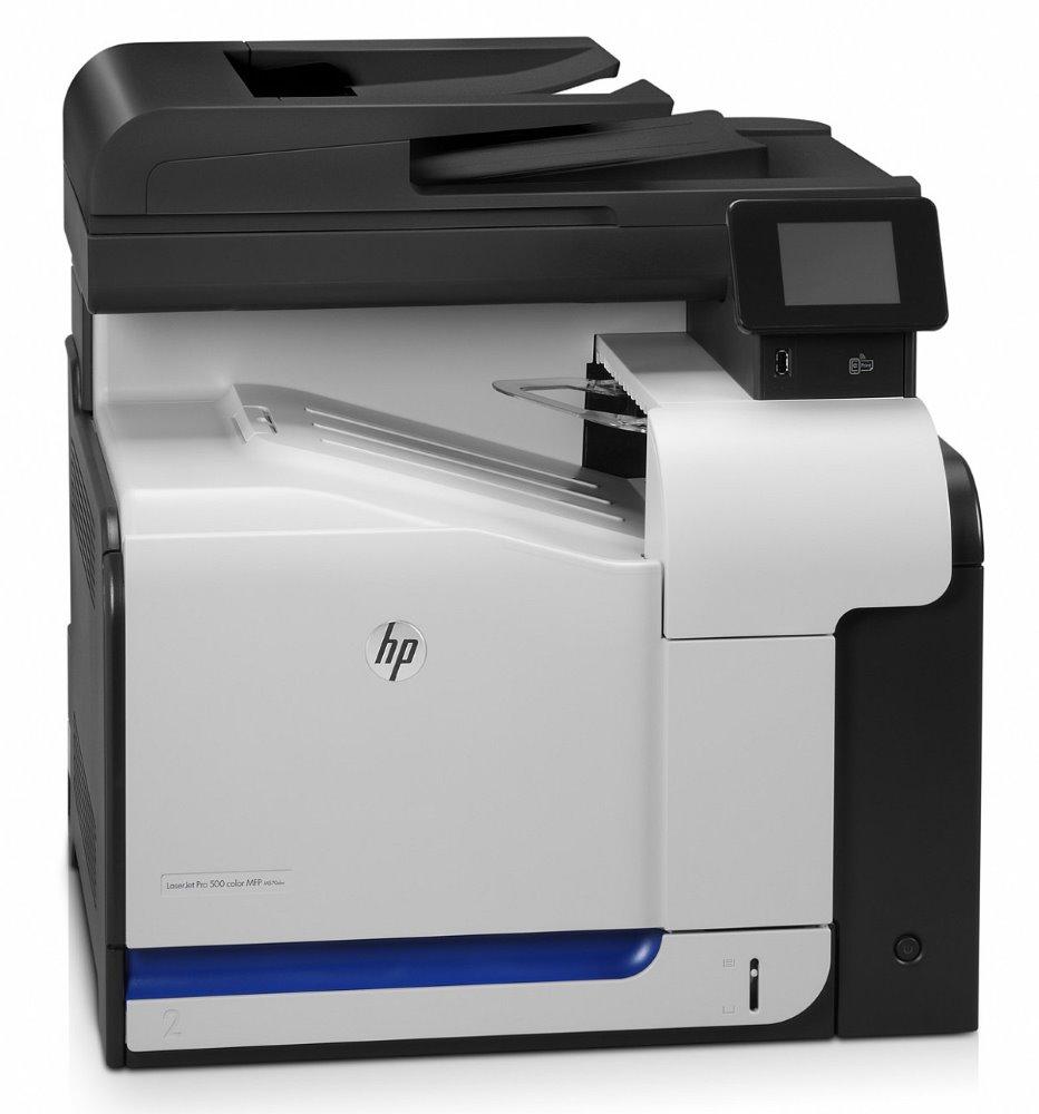 HP LaserJet Pro 500 Color MFP+fax M570dw/ A4/ 30ppm/ USB 2.0/ DADF/ LAN/ WL/ duplex