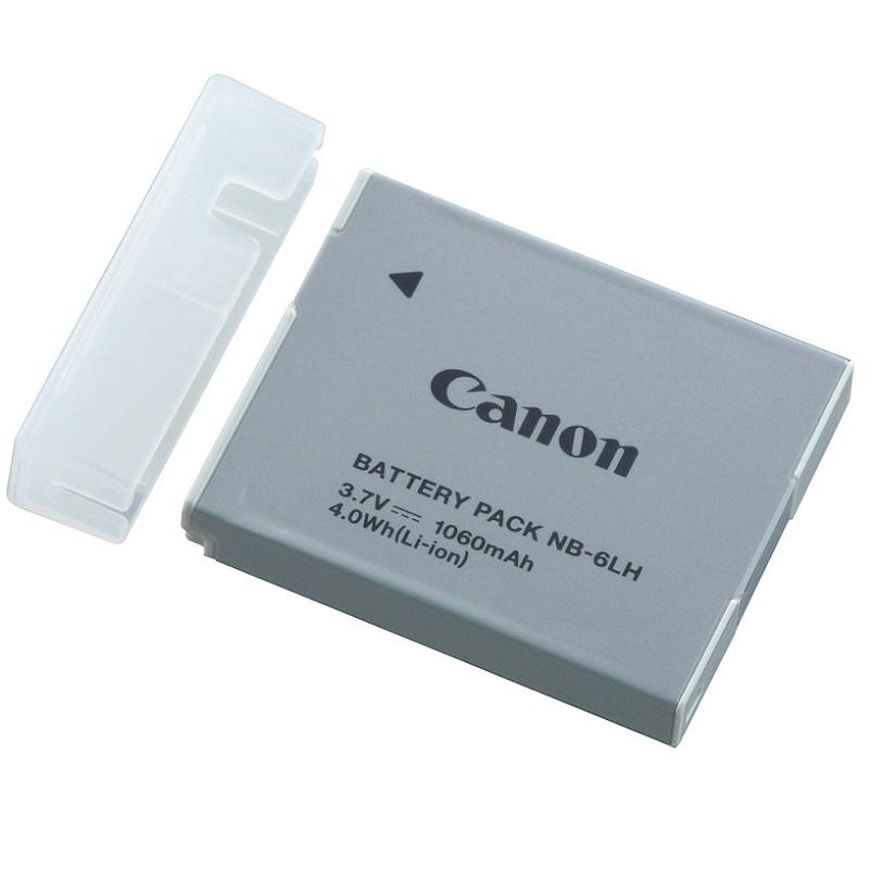 Baterie Canon NB-6LH Baterie, pro fotoaparát, 1060 mAh, Li-Ion, pro S120, SX170, SX260, 270, 280, SX500, 510 8724B001