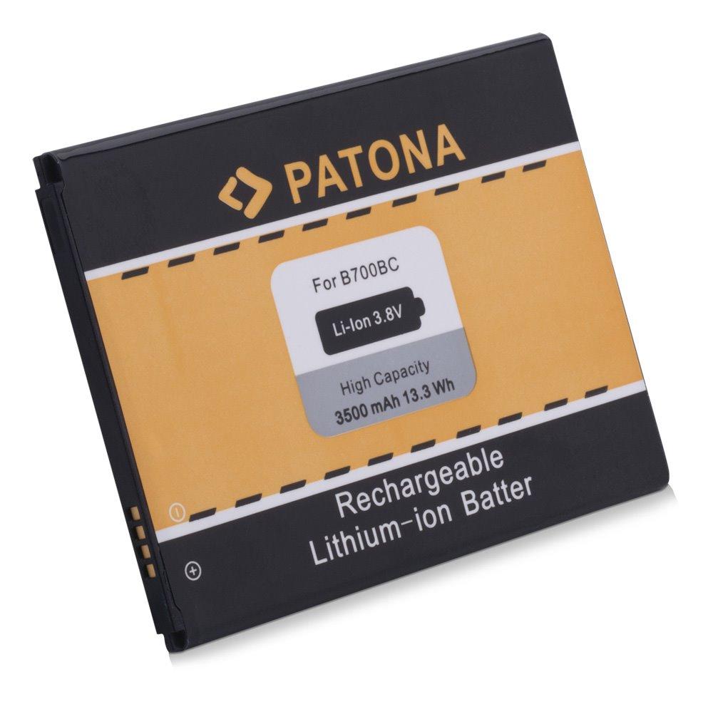Baterie PATONA kompatibilní s Samsung B700BU Baterie, pro mobilní telefon, B700BU, CS-SMG630XL, CS-SMG630SL, CS-SMG630HL, EB-B700BE, 3500mAh, 3.8V, Li-Ion, Samsung Galaxy Mega 6.3 i9200, i9205, S PT3019