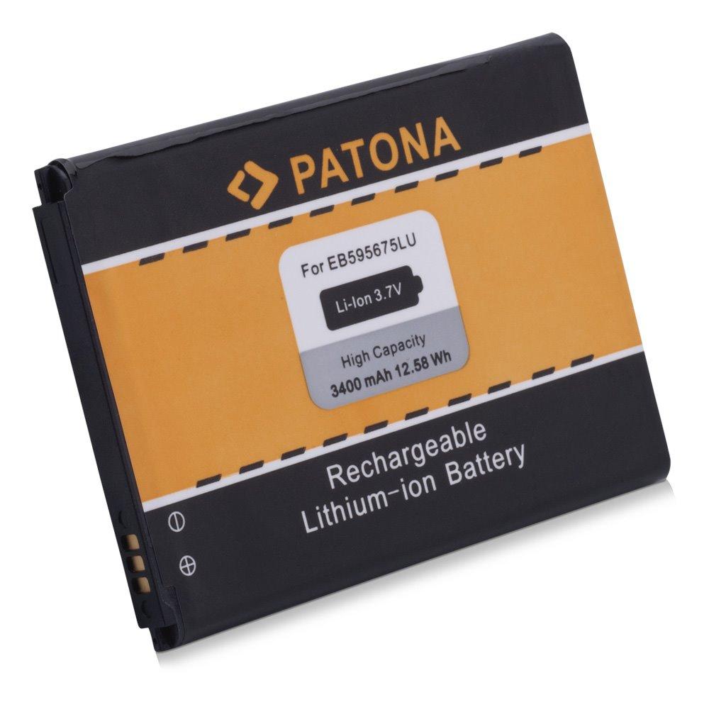 Baterie PATONA kompatibilní s Samsung EB595675LU Baterie, pro mobilní telefon, EB595675LU, 3400mAh, 3.7V, Li-Ion, Samsung GT-N719 Galaxy Note 2, GT-N7100 Galaxy Note 2, GT-N7102 Galaxy Note 2, GT-N71 PT3021