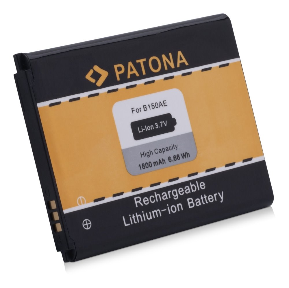 Baterie PATONA kompatibilní s Samsung B150, B150AE Baterie, pro mobilní telefon, B150, B150AE, 1800mAh, 3.7V, Li-Ion, Samsung Galaxy Core, Galaxy Core Duos, GT-I8260, GT-I8262 PT3025