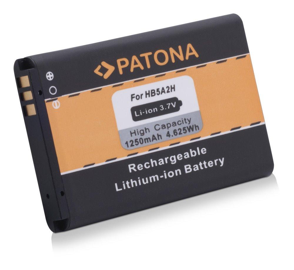 Baterie PATONA kompatibilní s Huawei BTR7519 Baterie, pro mobilní telefon, BTR7519, HB5A2H, CS-HUM750SL, 1250mAh, 4,6V, Li-Ion, Huawei C5730, C8000, C8100, E5805, EC5808, HB5A2H, HiQQ, M228, M750 PT3040