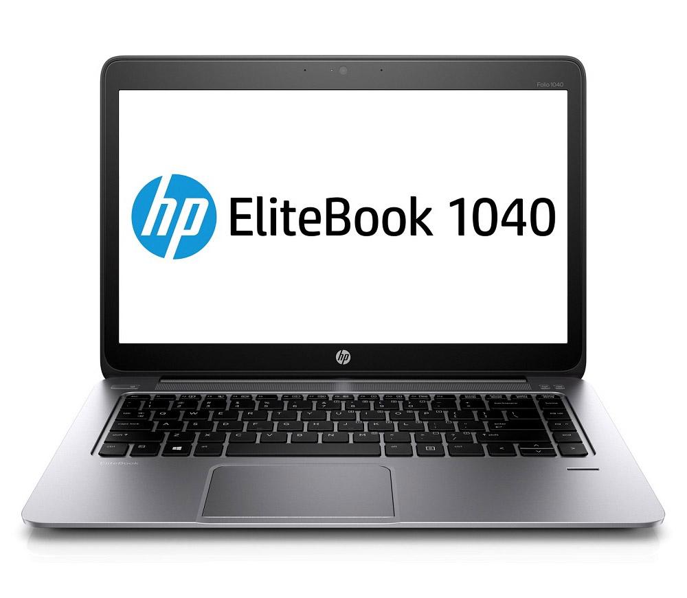 Notebook HP Folio 1040 Notebook, i5-4200U, 4GB, 180GB SSD, 14 HD+, 3G, BT, W7P+W8P H5F62EABCM