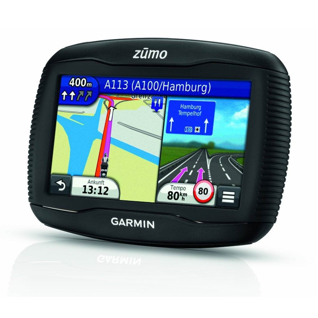 Moto navigace GARMIN zümo 390 Europe Lifetime Moto navigace, 4,3 LCD displej, 45 zemí Evropy 010-01186-01