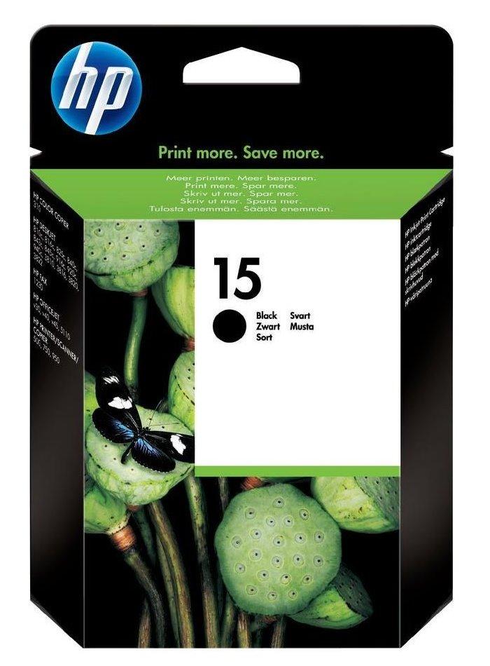 HP (15) C6615DE - ink. náplň černá, DJ 840(5), 9(2)40 originál