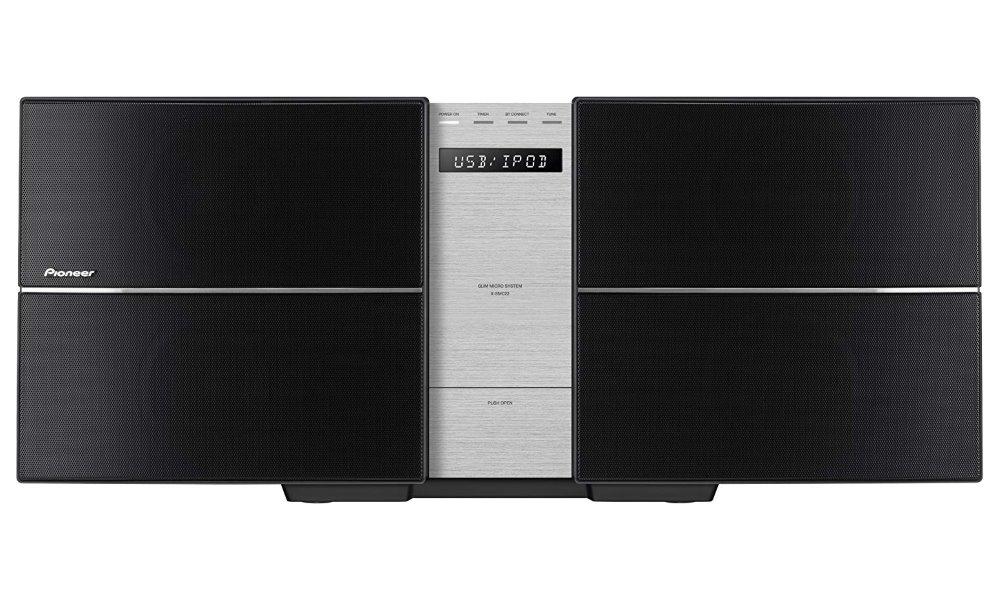 Mikrosystém Pioneer X-SMC22-S Mikrosystém, CD, USB, dálkové ovládání, černý X-SMC22-S
