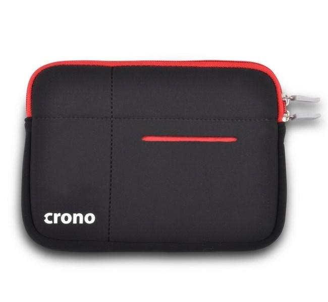 Pouzdro CRONO CB10043 Pouzdro, na tablet, do 7,9, černé, zip, neopren CB10043
