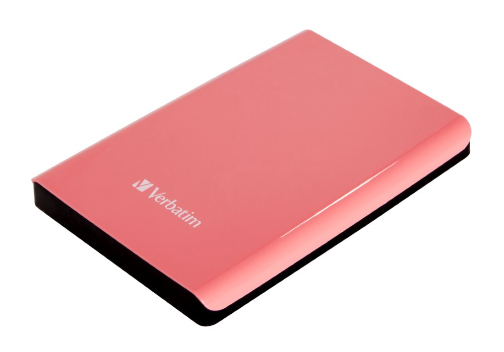 Pevný disk Verbatim Store 039n039 Go 500 GB Pevný disk, externí, 2,5, 5400RPM, USB 3.0, růžový, blister 53170