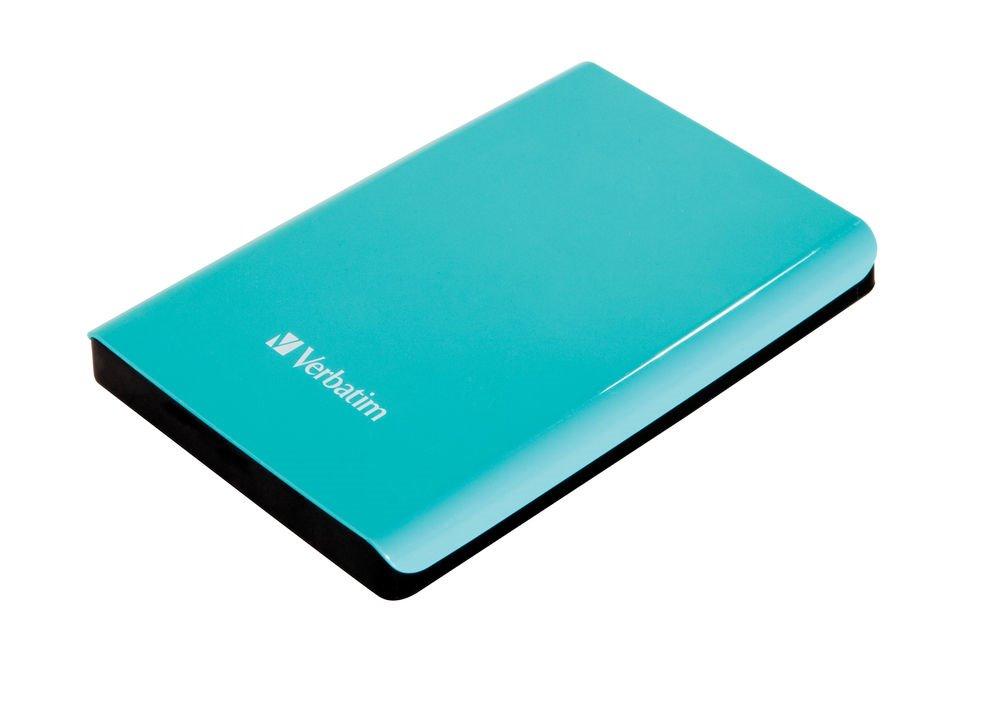 Pevný disk Verbatim Store 039n039 Go 1 TB Pevný disk, externí, 2,5, 5400RPM, USB 3.0, zelený, blister 53174