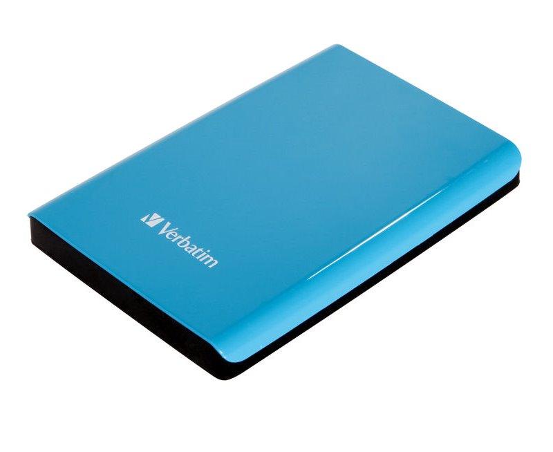 Pevný disk Verbatim Store 039n039 Go 1 TB Pevný disk, externí, 2,5, 5400RPM, USB 3.0, modrý, blister 53175
