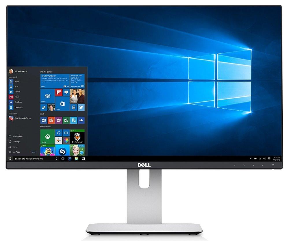"LED monitor Dell UltraSharp U2414H 24"" LED monitor, 24"", 16:9, 1920x1080, 1000:1, 8ms, Full HD, 2x HDMI, 5x USB, DP, miniDP, IPS, 3YNBD on-site"