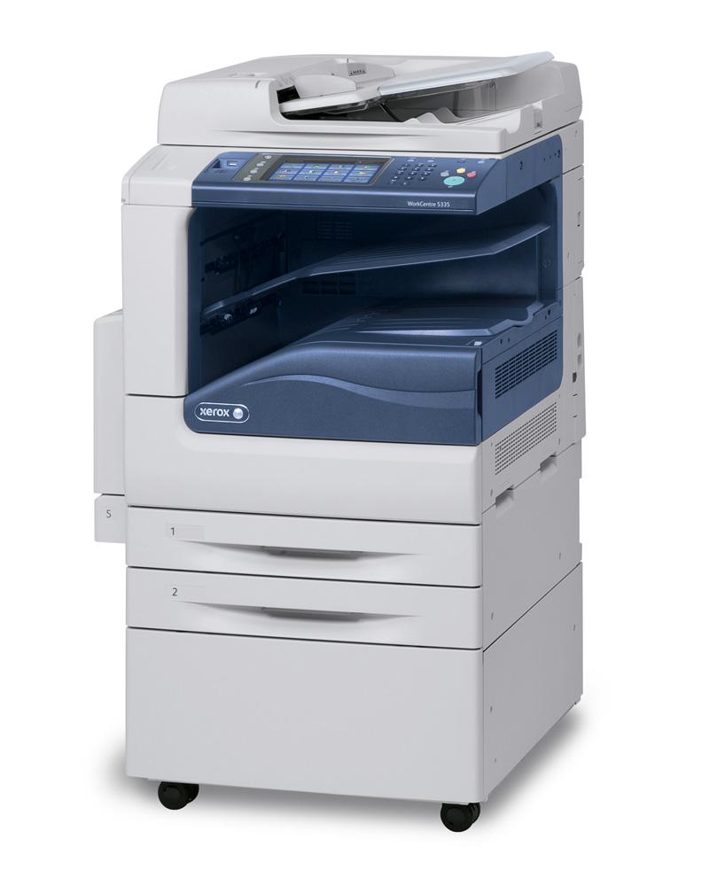 Multifunkční tiskárna Xerox WorkCentre 5300V_S Černobílá multifunkční laserová tiskárna, ČB MFZ, A3, USB, Ethernet 1GB, DUPLEX, HDD 160GB, DADF 5300V_S