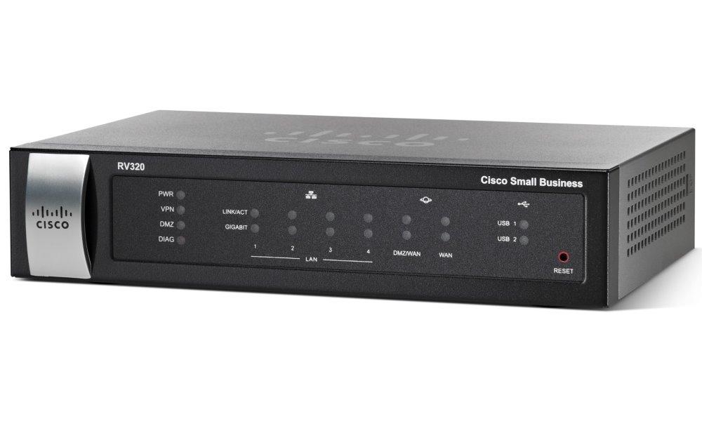 Router Cisco Small Business RV320 Router, 4x LAN, NAT, IPSec RV320-K9-G5