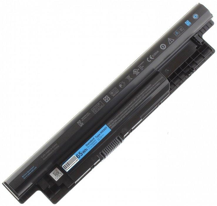 Baterie pro notebooky Dell 65 Wh Baterie, 6-článková, 65 Wh, pro Inspiron 14, 14R, 15, 15R, 17, 17R, Latitude 3440, 3540, Vostro 2421, 2521 451-12104