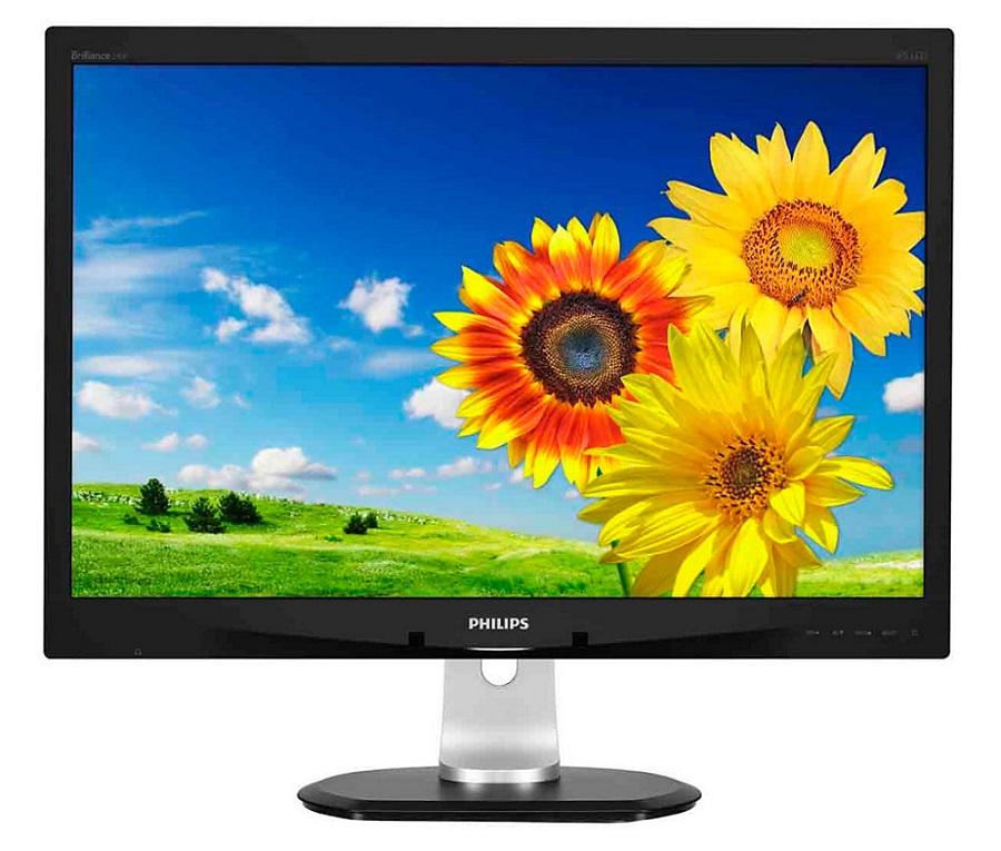 LED monitor PHILIPS 240P4QPYEB 24 LED monitor, IPS panel, 1920x1200, 20mil:1, D-Sub, DVI, DP, 4xUSB, repro, pivot 240P4QPYEB/00