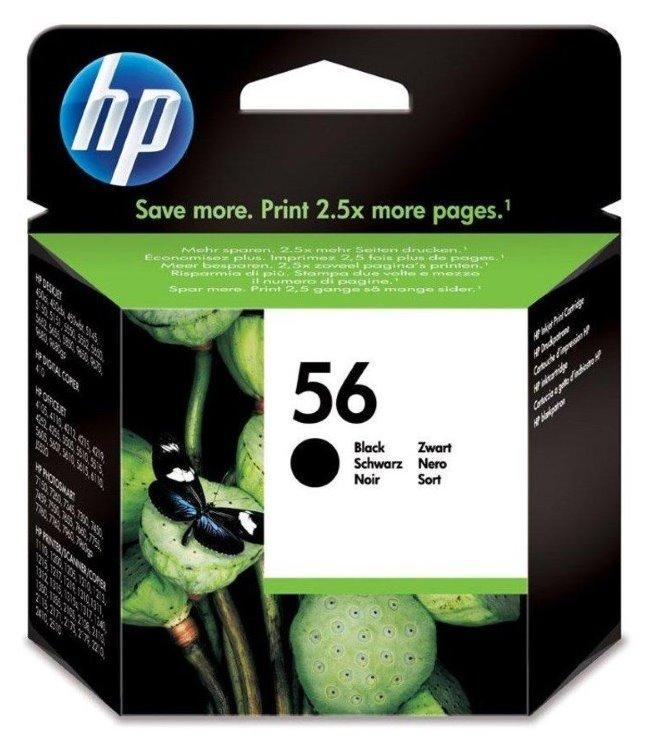 Cartridge inkoustová náplň HP 56 HP C6656A - ink. černá, DJ 5550, 5652 C6656AE