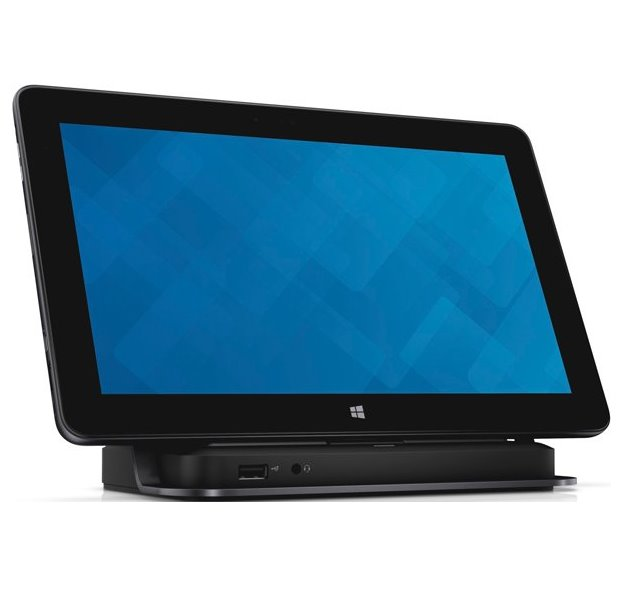 Dokovací stanice DELL Tablet Dock Dokovací stanice, černá, pro notebook, USB, DisplayPort, HDMI, RJ-45 452-BBRL