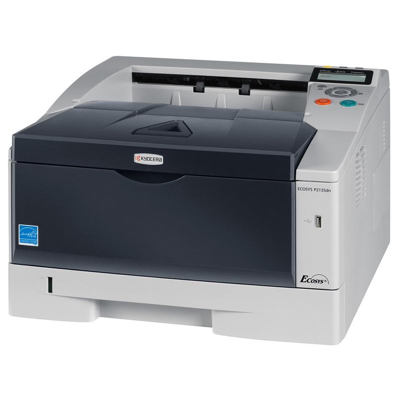 Laserová tiskárna KYOCERA ECOSYS P2135DN Černobílá laserová tiskárna, A4, 1200x1200, Duplex, LCD, USB, Síť ECOSYS P2135dn