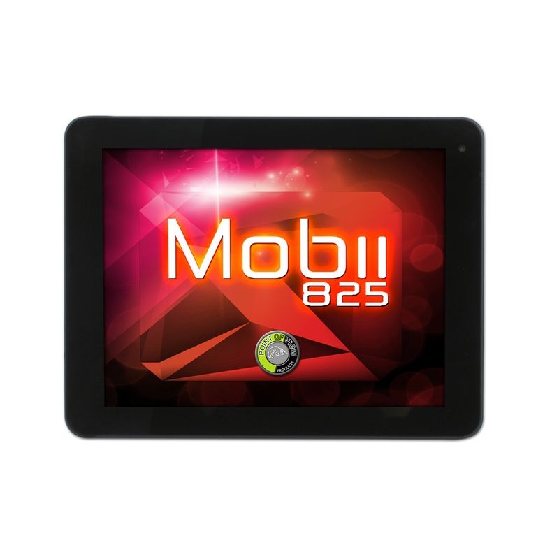 Tablet POINT OF VIEW Mobii 825 Tablet, 8GB, 8, Dual Core, 3D akcelerace, Wi-Fi, Kamera, HDMI, Android 4.1 - OPRAVENÉ POVT0078V1