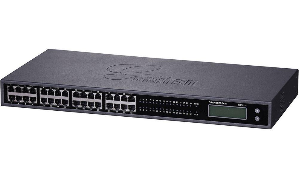 VoIP brána Grandstream GXW-4232FXS VoIP brána, analogová, 32 x FXS, 1 x 50-pin telco,1 x LAN GXW4232