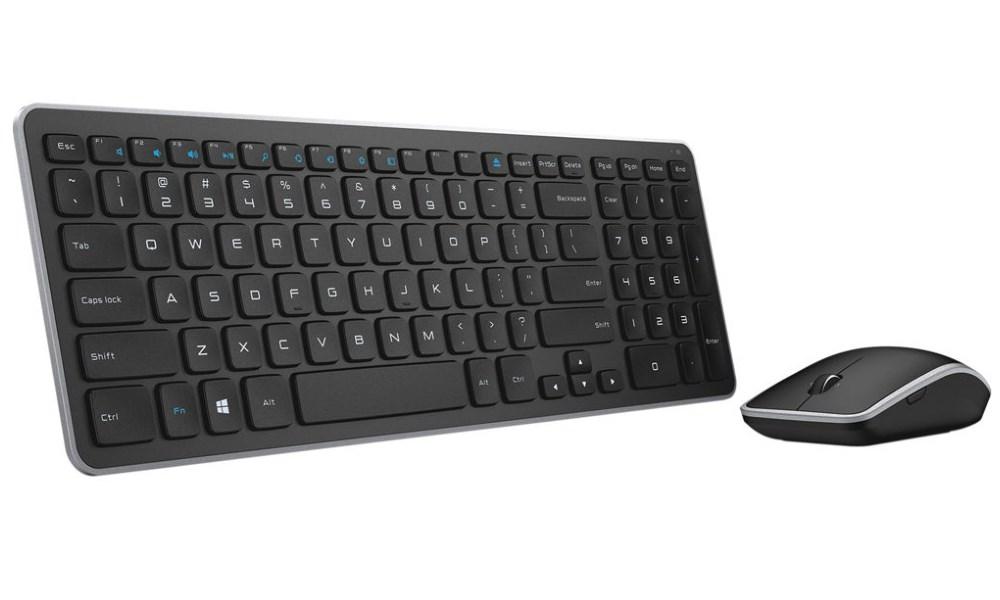 Set klávesnice a myši DELL KM714 Set klávesnice a myši, bezdrátový, UK-Irish, britská, irská 580-18381