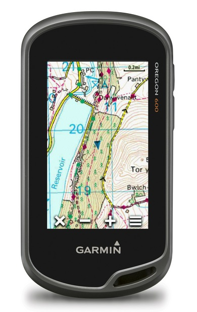 Turistická navigace GARMIN Oregon 600 PRO Turistická navigace, 3 displej, 2 x AA, microSD 010-01066-90