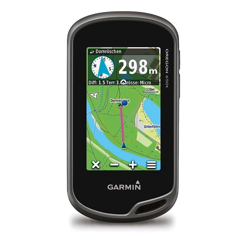 Turistická navigace Garmin Oregon 650t PRO Turistická navigace, 240 x 400, 3 displej, 2 x AA 010-01066-98