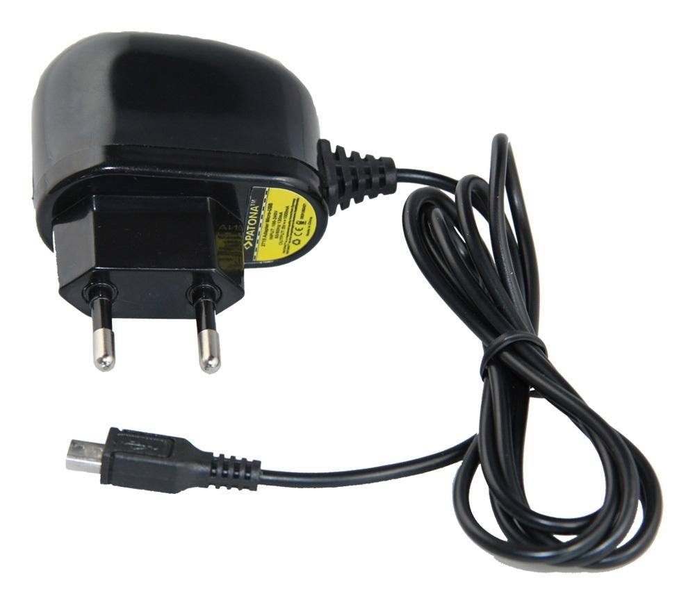 Nabíječka micro USB PATONA do sítě 230V 1A MicroUSB nabíječka do sítě 230V 1A PT2715