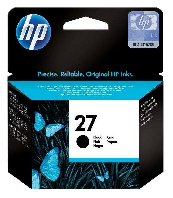 Cartridge inkoustová náplň HP 27 HP C8727A - ink. černá, DJ 3420,3745 C8727AE
