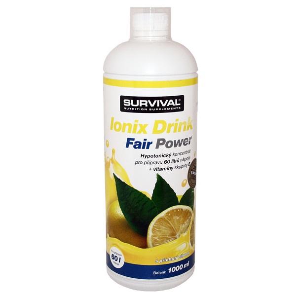Sportovní nápoj IONIX Drink Citron 1000 ml Sportovní nápoj, 1000 ml, citron 8594056371099