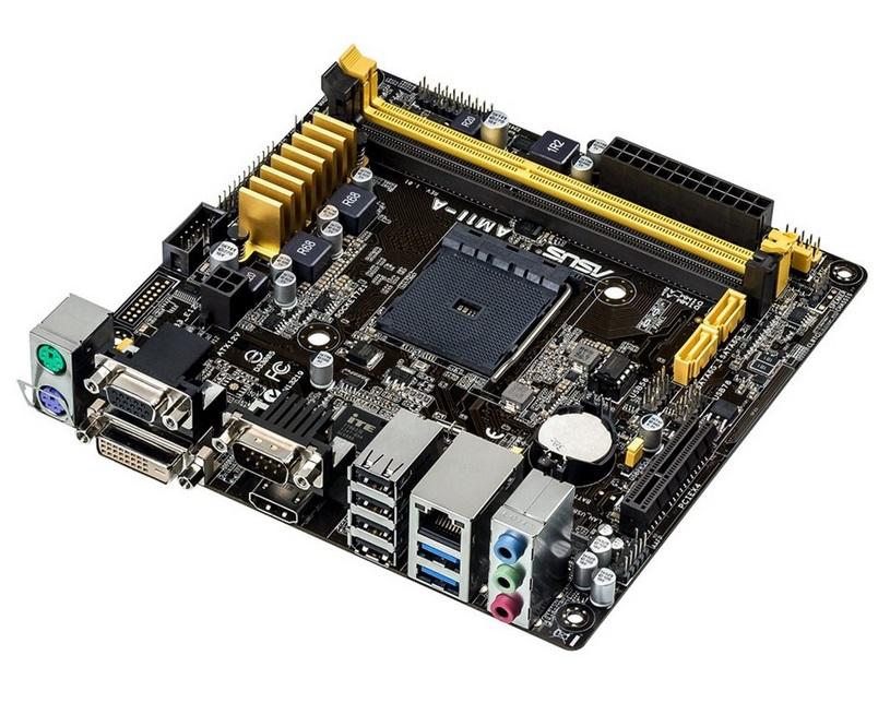 Základní deska ASUS AM1I-A Základní deska, AMD APU, AM1, 2 x DDR3 1600MHz, VGA, mini-ITX 90MB0IA0-M0EAY0