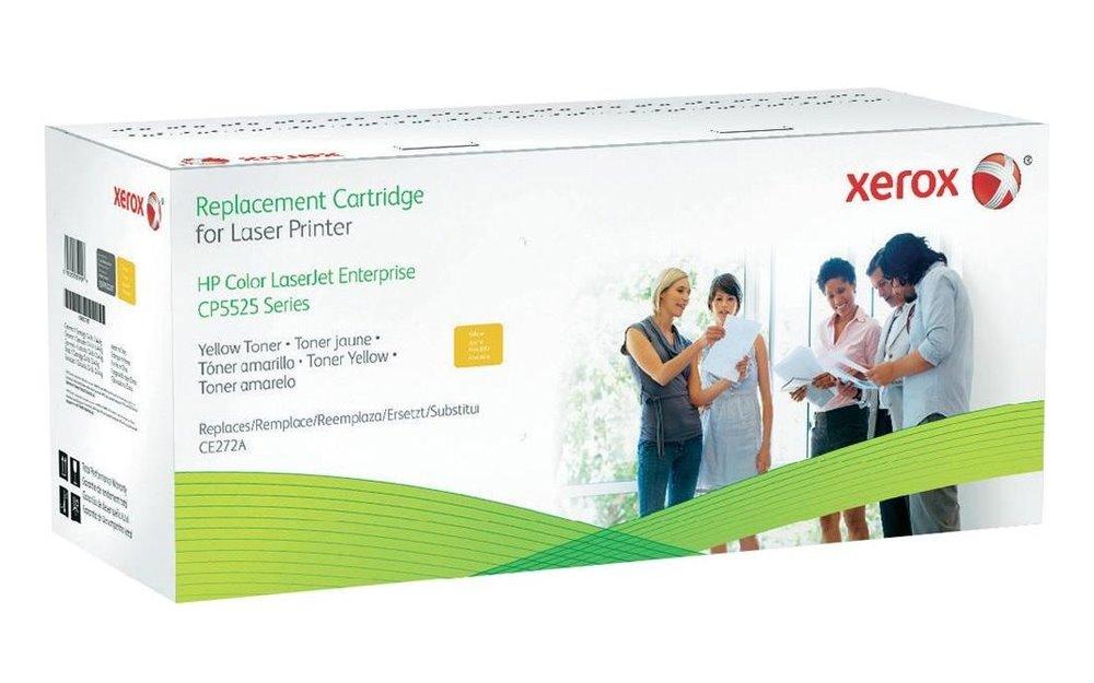 Toner Xerox renovace HP CE272A žlutý Toner pro HP Color LaserJet Enterprise CP5525dn, CP5525n, 15000 stran 498L00551