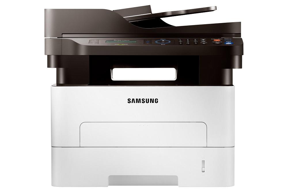 Multifunkční tiskárna SAMSUNG SL-M2885FW Černobílá multifunkční laserová tiskárna, A4, 28ppm, 4800x600dpi, 600MHz, 128MB, PCL, USB+LAN+Wifi, LCD, Duplex, NFC, fax SL-M2885FW/SEE