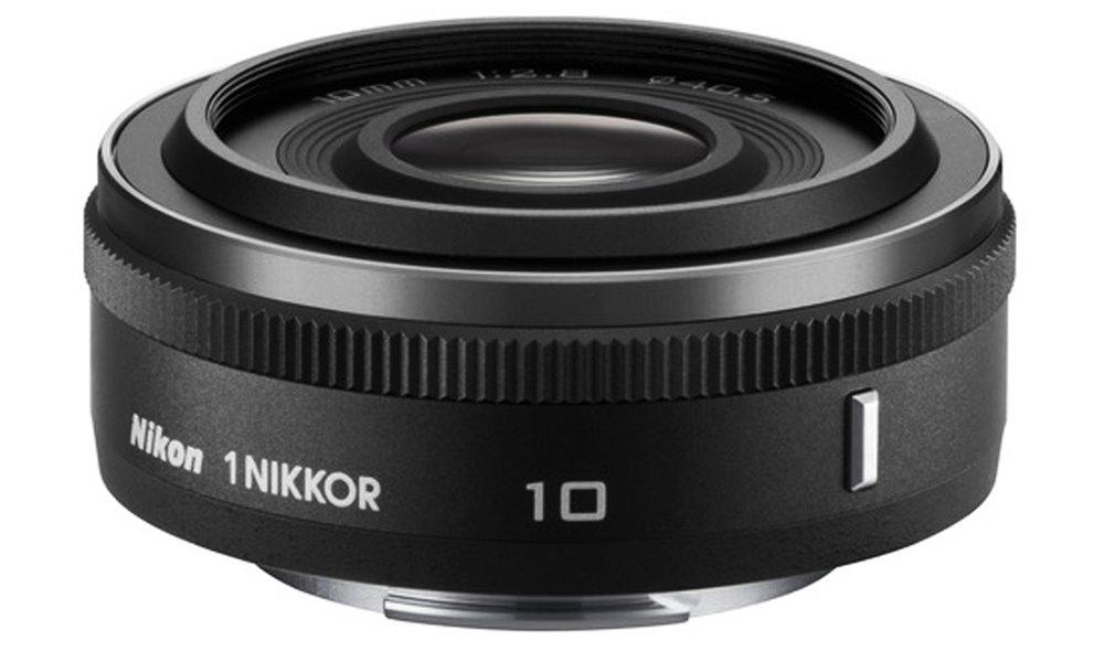 Objektiv Nikon 1 NIKKOR 10 mm f/2,8 Objektiv, 10 mm, f/2,8, černý JVA101DA