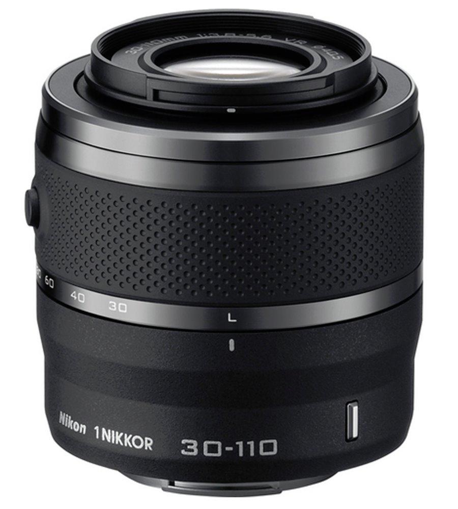 Objektiv Nikon 1 NIKKOR 30 - 110 mm f/3,8-5,6 VR Objektiv, 30 - 110 mm, f/3,8-5,6, VR, černý JVA703DA