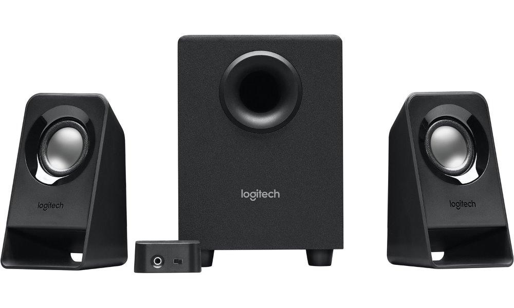 Reproduktory LOGITECH Z213 Reproduktory, 2.1, 7W, 3.5mm jack, černé 980-000942