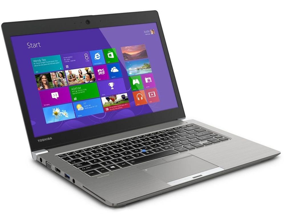Ultrabook Toshiba Portégé Z30-A-140 Ultrabook, i5-4300U, 13.3 HD LED, 8GB, 256GB SSD, intel HD, 3G, BT, CAM, W7P+W8.1P, stříbrný PT241E-01K01ECZ