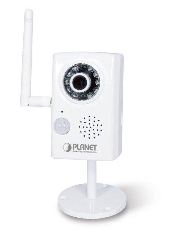 IP kamera PLANET ICA-W1200 IP kamera, HD, WiFi CUBE, F1,2 1920x1080, PIR, microSD, 802.11b/g/n, ONVIF, LED přísvit, ZÁPŮJČNÍ KUS NKKPNT100002Z