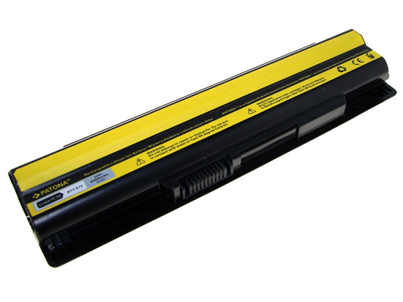 Baterie PATONA pro notebook MSI CR650 Baterie, pro notebook, 4400mAh, Li-Ion, 11,1V PT2312