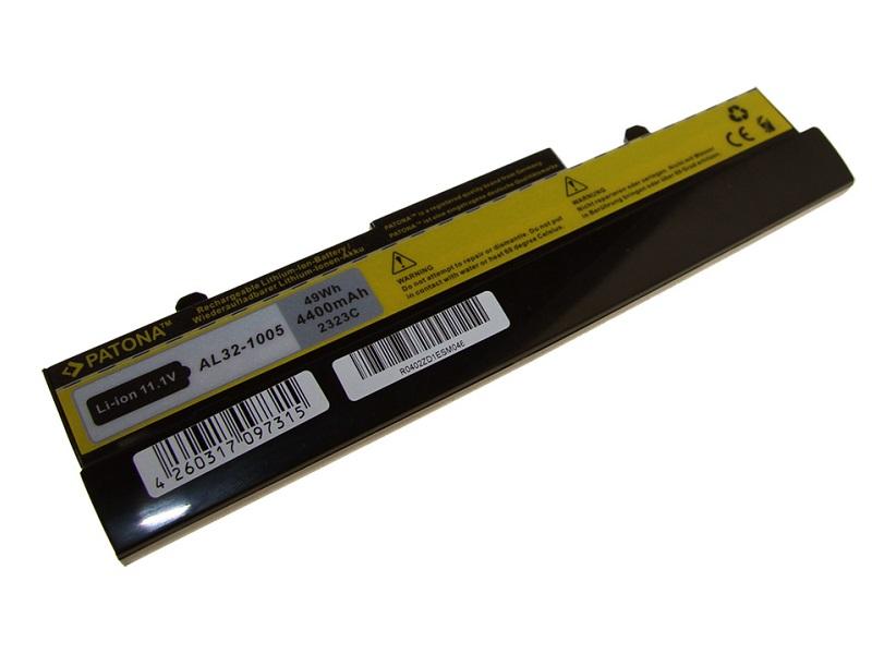 Baterie PATONA kompatibilní s Asus AL31-1005 Baterie, pro notebook, 4400mAh, Li-Ion, 11,1V PT2323
