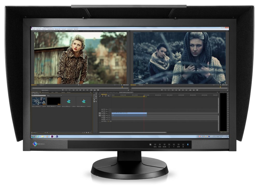 LED monitor EIZO CG277-BK 27 LED monitor, IPS-GB-rLED, 2560x1440, 6ms Overdrive, K=1000:1, 50-300cd/m2 2x USB, 1x DVI, 1xHDMI, DP CG277-BK