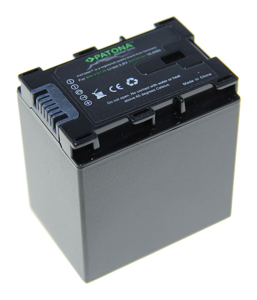 Baterie PATONA kompatibilní s JVC BN-VG107 Baterie, pro videokameru, 4450mAh, Li-Ion Premium PT1217