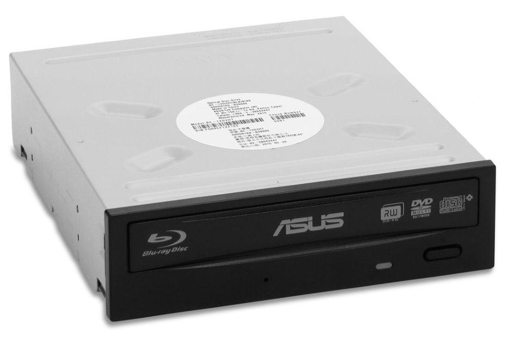Blu-ray mechanika Combo BC-12D2HT Blu-ray mechanika, interní, BLK/G/AS, černá, SATA, retail + Cyberlink Power2Go 8 90DD01K0-B20000