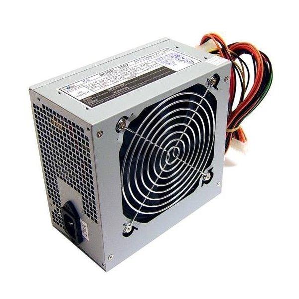 Zdroj CRONO PS350Plus Zdroj, 350 W, 12 cm fan, Active PFC, Erp lt 0.5W, 4x SATA, retail balení, 80+, stříbrný PS350Plus