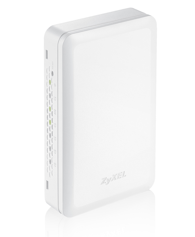 Access point ZyXEL NWA5301-NJ Access point, samostatný nebo controller 802.11 b/g/n Wireless, In-Socket-Wall, pass thru phone NWA5301-NJ-EU0101F