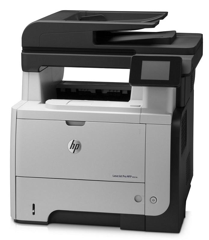 Multifunkční tiskárna HP LaserJet Pro M521dn Černobílá multifunkční laserová tiskárna, A4, tisk+skener+kopírka+fax, 1200x1200, USB, duplex, LAN, černo-šedá barva A8P79A