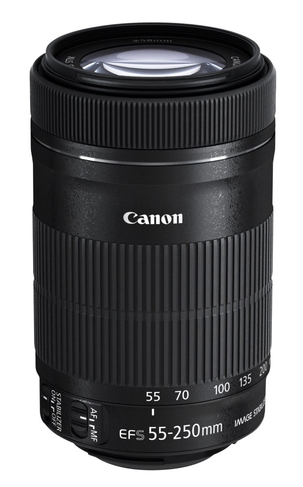 Objektiv Canon EF-S 55 - 250 mm f/4-5.6 IS II STM Objektiv, EF-S, 55-250mm, f/4-5,6, IS, STM, zoom 8546B005AA