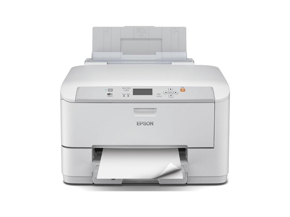 Inkoustová tiskárna EPSON WorkForce Pro WF-5110DW Barevná inkoustová tiskárna, A4, Duplex, 4800x1200, 4 barvy, síť, Wi-Fi, USB C11CD12301